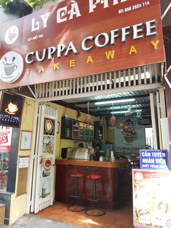 路過一間咖啡外賣店