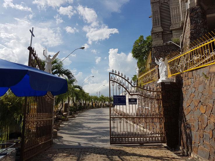教堂的大閘