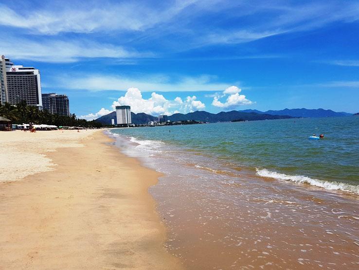 海灘的另一方向