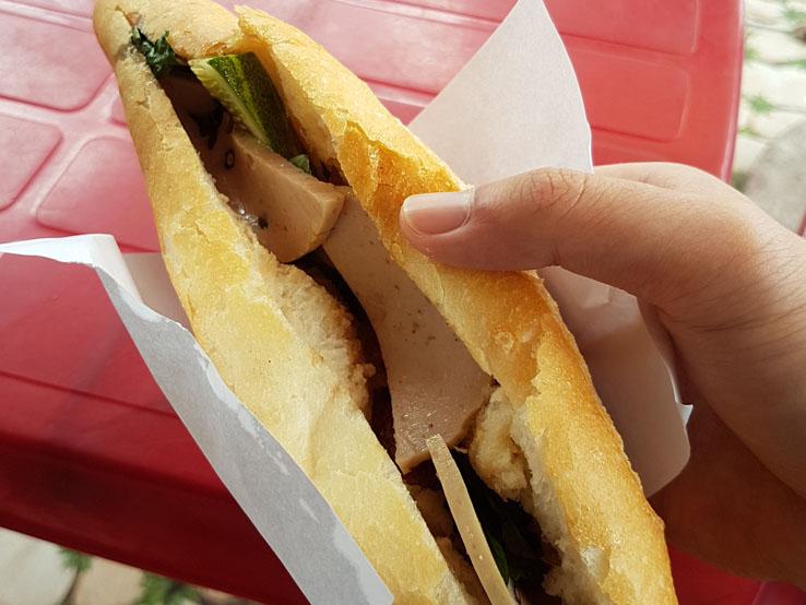 超好吃的越南法包