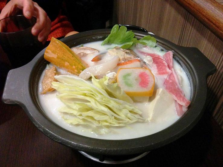 海鮮牛奶鍋