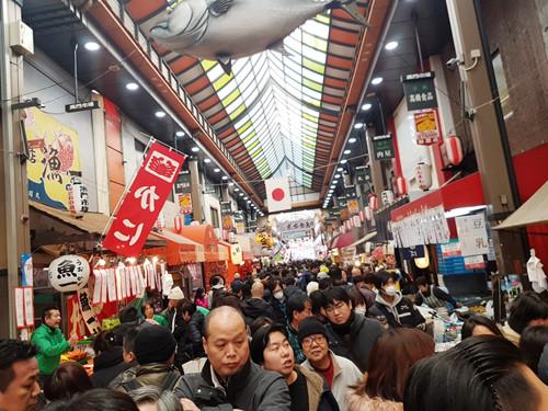 大阪必去-黑門市場