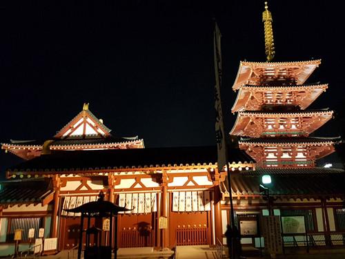 大阪跨年-四天王寺