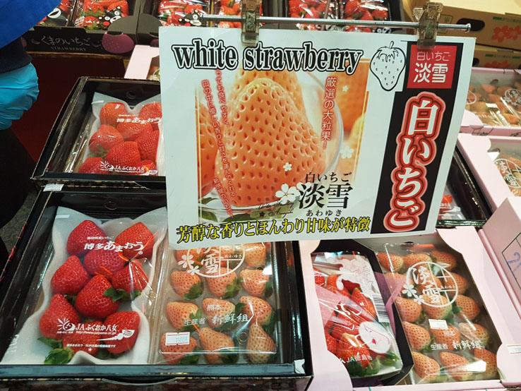 白粉紅草莓