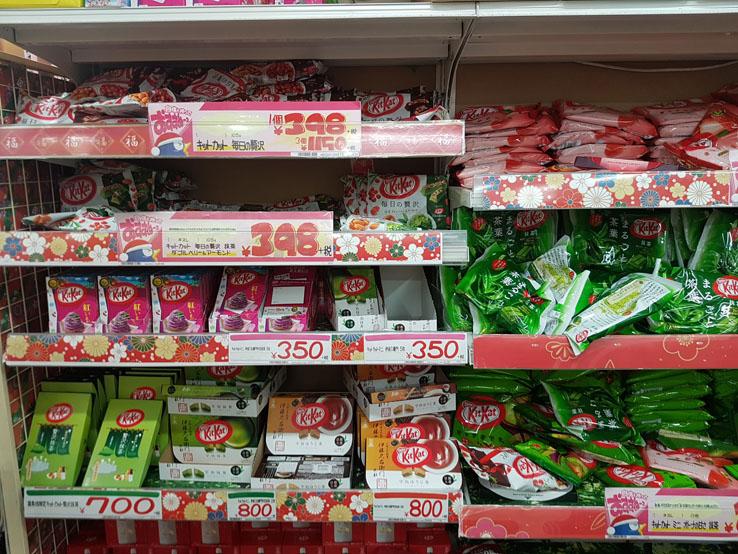 日本KitKat無敵