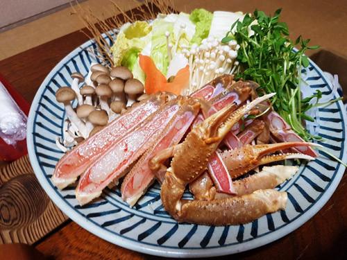 松葉蟹大餐