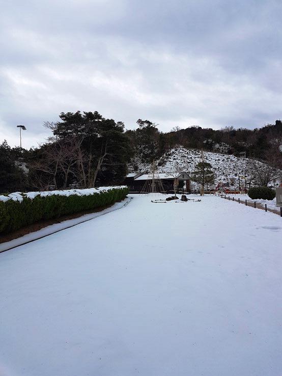 全部都是雪
