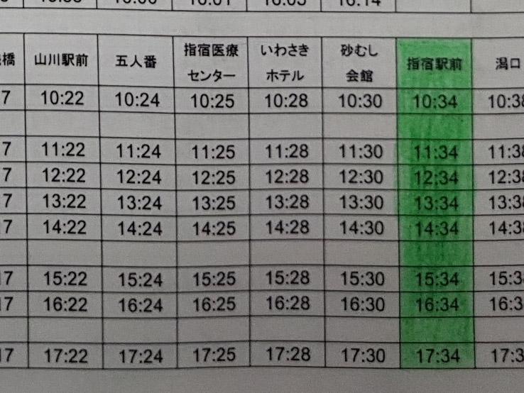 買票後也要留意一下巴士的最後一班時間,因為很早便沒有了。