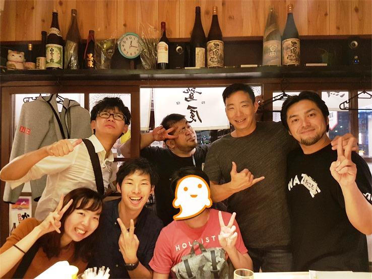 日本朋友合照