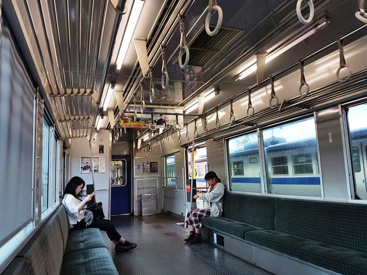 普通列車回程