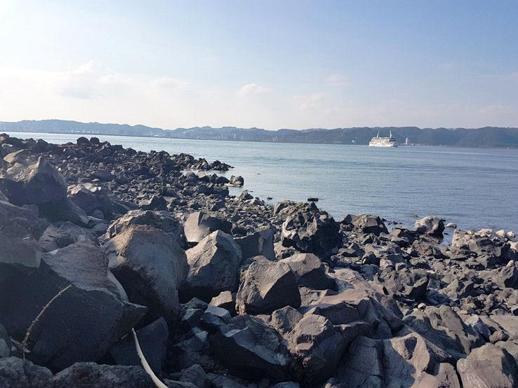火山熔岩石