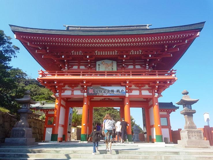 鵜戶神宮大門